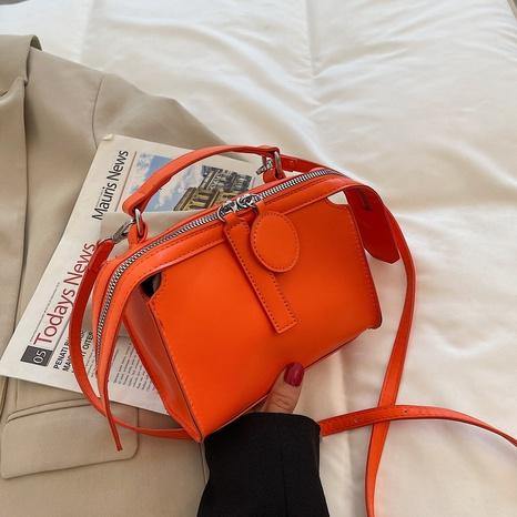 petit sac carré messager d'épaule de couleur bonbon décontracté NHTG362647's discount tags