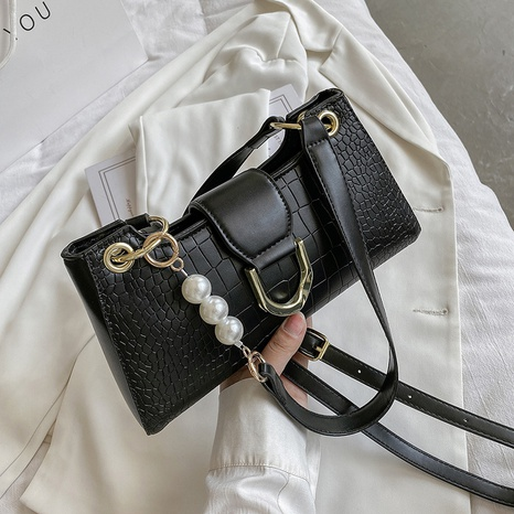 Petit sac à la mode en chaîne de perles simple sous les bras NHTG362650's discount tags