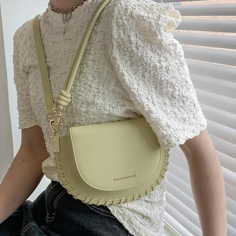 sac de selle à bandoulière tissé à la mode NHTG362649's discount tags