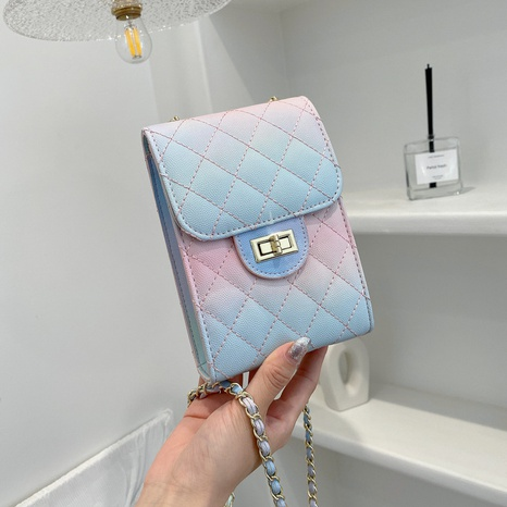 Sac à bandoulière en chaîne de mode coréenne NHTG362652's discount tags