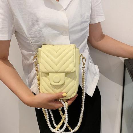 petit sac à chaîne de perles de fil de broderie simple NHTG362651's discount tags