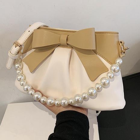 Sacs à bandoulière simples avec nœud de perles de style coréen NHTG362661's discount tags