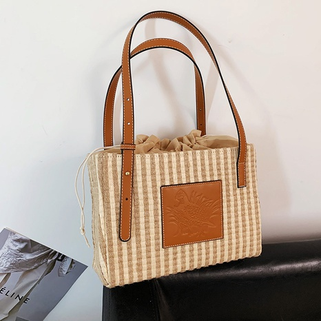 Sac fourre-tout à rayures simples NHTG362665's discount tags