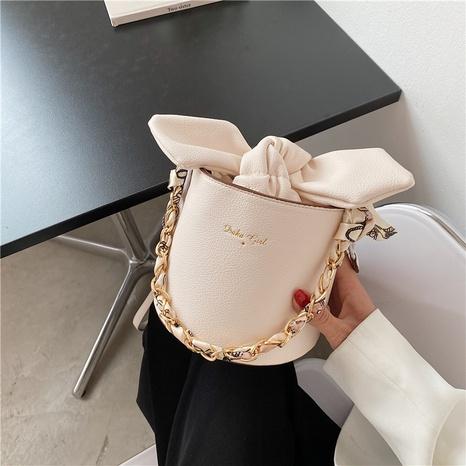 sacs à main de messager d'une seule épaule de chaîne d'arc simple NHTG362676's discount tags