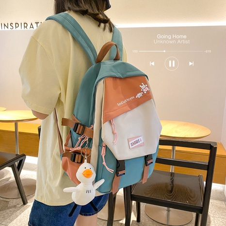 Grand sac à dos de jouet de canard de couleur de sucrerie de mode NHTG362688's discount tags