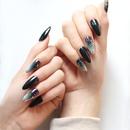 Fashion Almond Tip Long False Nails NHLUU363013