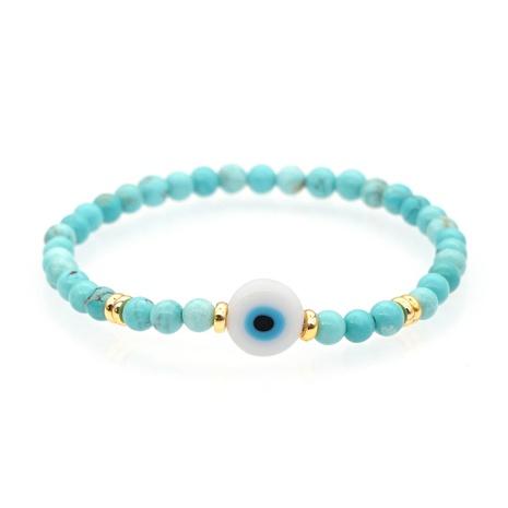 fashion semi-precious stones glazed demon eye bracelet  NHBDB363170's discount tags