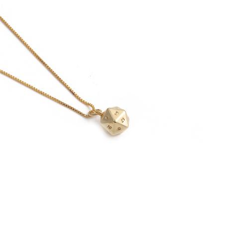 Collier pendentif irrégulier en zircon avec chiffres de mode NHYL363622's discount tags
