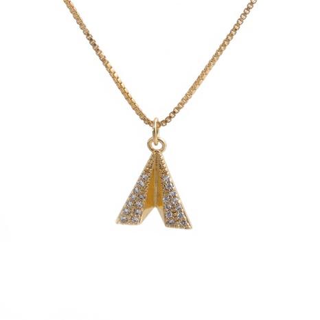 Collier pendentif géométrique irrégulier à la mode NHYL363623's discount tags
