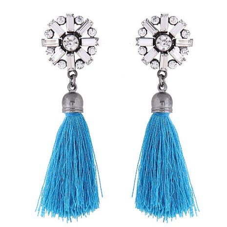 fashion metal bright tassel earrings wholesale  NHSC363728's discount tags