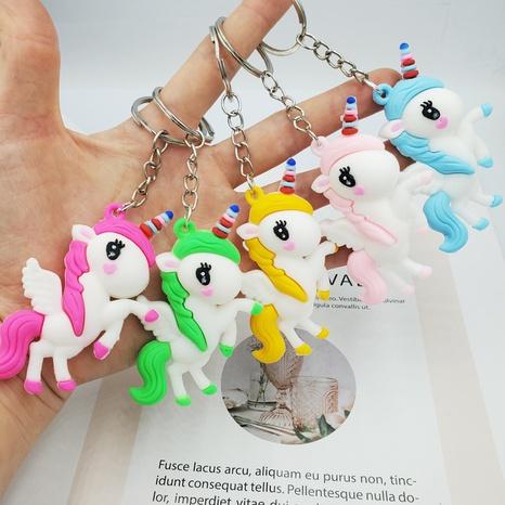 porte-clés pendentif licorne couleur dessin animé mignon NHDI363732's discount tags