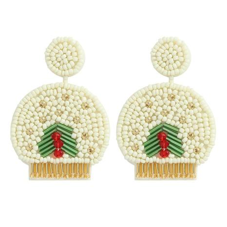 ethnic style handmade beads geometric earrings  NHJQ364011's discount tags