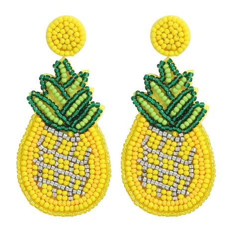 ethnic style exquisite trendy beads cloth earrings NHJQ364012's discount tags
