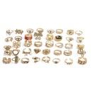 Retro inlaid zircon jewelry copper cross fine diamond ring  NHYL364284
