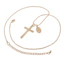 fashion classic personality cross pendant necklace wholesale NHMD364403