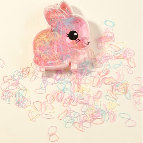 linda banda de goma de color pequeño conejo NHNU365883's discount tags