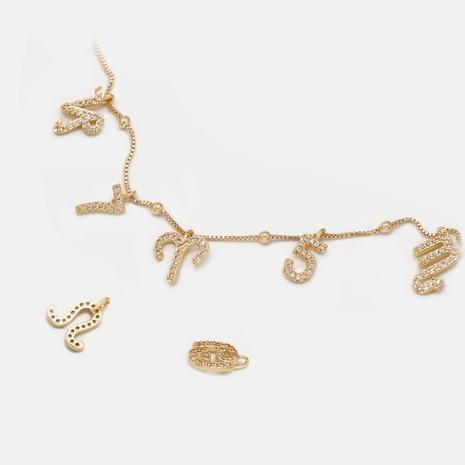 Accesorios del collar del día de San Valentín de la constelación del diamante de la moda doce NHWV358665's discount tags