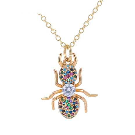 Collar de cobre con colgante de insecto hormiga de moda NHWG358836's discount tags