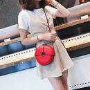 Fashion metal chain round bag  NHLH364738