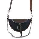 Fashion colorful metal chain armpit bag NHLH364747