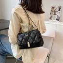fashion solid color metal botton messenger bag  NHLH364752