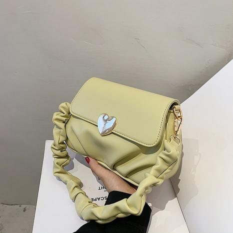 Bolso de mensajero de hombro de nube de pliegue de moda coreana NHLH364763's discount tags