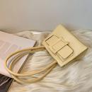 fashion stone patten single shoulder small square bag NHLH364778