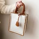 simple DIY shoulder messenger small square bag NHLH364784