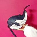 fashion PU dolphin shape messenger bag NHLH364887