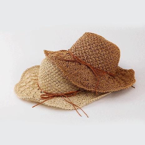 fashion pineapple head handmade big brimmed sunscreen straw hat NHTQ365053's discount tags