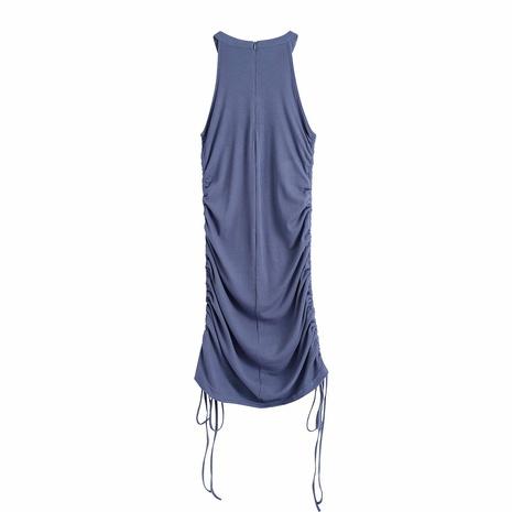 Robe tricotée à la mode d'été avec cordon de serrage NHAM365198's discount tags