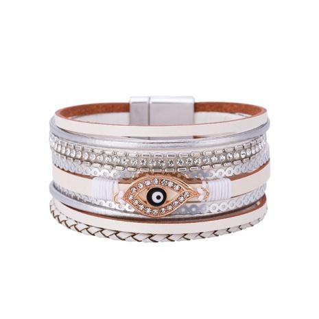 wholesale jewelry wide-brimmed eye shape bracelet Nihaojewelry NHBD376835's discount tags