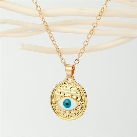 Joyería al por mayor del collar de la gota de agua del ojo del diablo de la moda de Nihaojewelry NHGO377110's discount tags