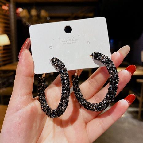 wholesale jewelry circle long earrings Nihaojewelry  NHPA377153's discount tags