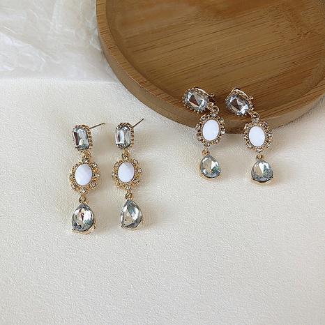 nihaojewelry pendientes largos de diamantes de estilo étnico joyería al por mayor NHPA377170's discount tags