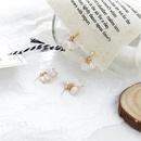 wholesale jewelry simple disc pearl earrings Nihaojewelry NHPA377174