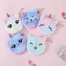 Nihaojewelry wholesale accessories new cartoon cat plush coin purse  NHGO381788