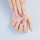 Wholesale Accessories Clashing Color Flower Fake Nail Patch Nihaojewelry NHLUU381847