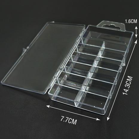 Großhandelszubehör 100 Stück gefälschte Nägel leere Plastikbox Nihaojewelry NHLUU377235's discount tags