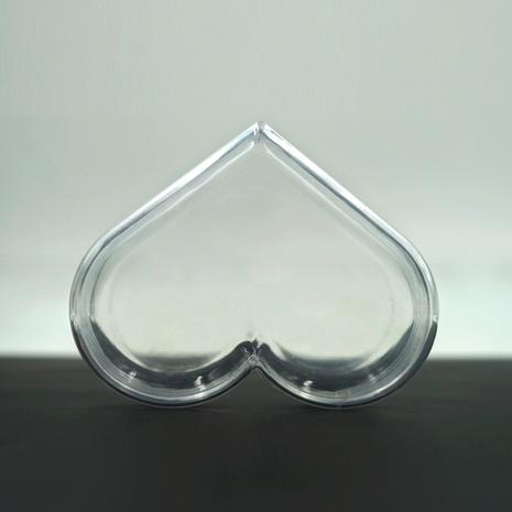 Großhandel Zubehör Herzförmige gefälschte Nagel Display Leere Plastikbox Nihaojewelry NHLUU377232's discount tags