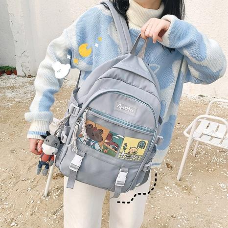 wholesale fashion large-capacity cartoon pattern backpack nihaojewelry  NHAV382080's discount tags