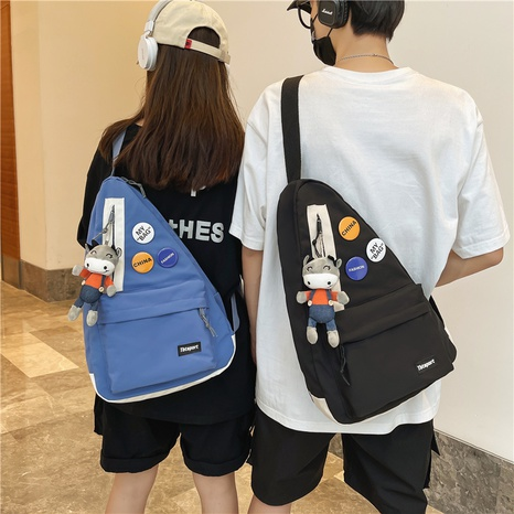 Nihaojewelry casual messenger triangle irregular single shoulder bag wholesale accessories NHAV382096's discount tags