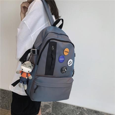 wholesale fashion cartoon pendant badge backpack nihaojewelry  NHAV382103's discount tags