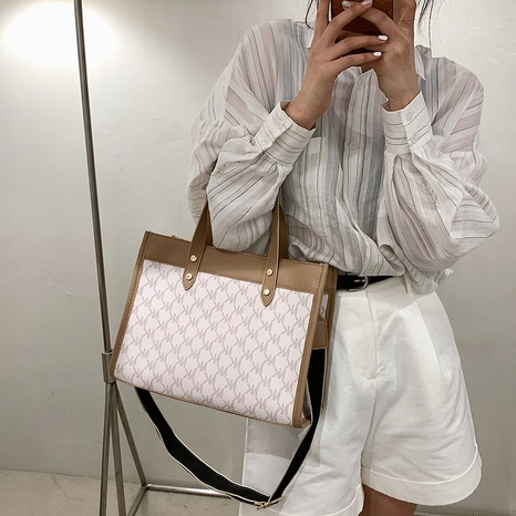Nihaojewelry fashion large-capacity single-shoulder messenger tote bags wholesale NHJZ382124's discount tags