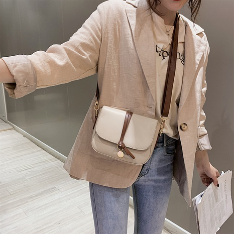 wholesale fashion simple buckle type shoulder bag nihaojewelry  NHLH382245's discount tags