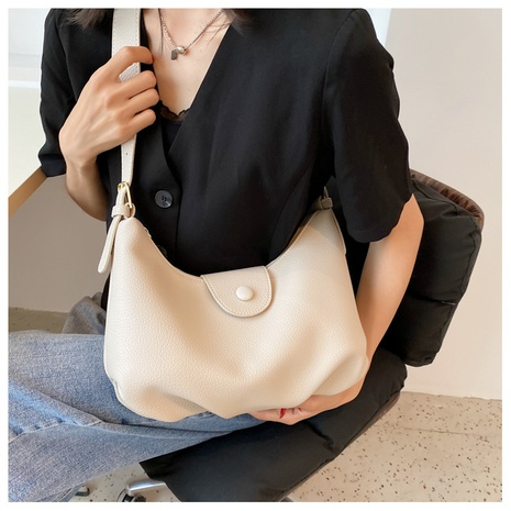 Nihaojewelry Casual fold texture messenger shoulder bag wholesale NHLH382315's discount tags