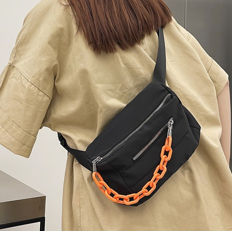 Nihaojewelry casual one-shoulder messenger chest bag wholesale NHLH382342's discount tags