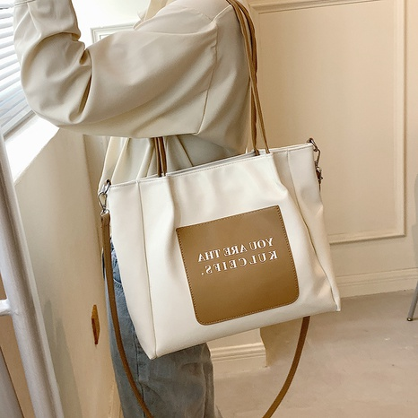 Nihaojewelry fashion shoulder large capacity tote bag wholesale NHLH382366's discount tags