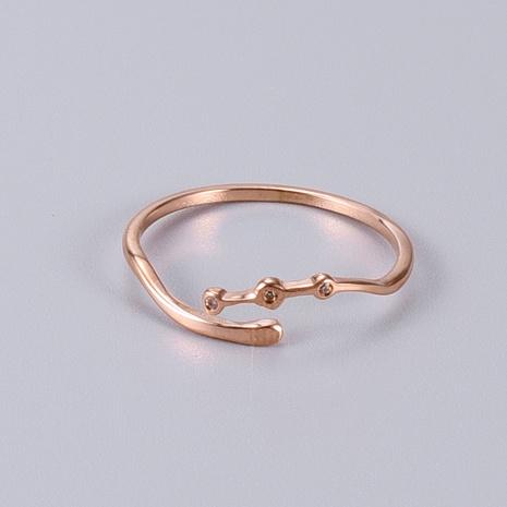vente en gros bijoux bague en acier titane diamant géométrique Nihaojewelry NHAB383126's discount tags