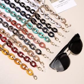Nihaojewelry retro acrylic anti-lost glasses chain lanyard wholesale jewelry NHCL383437